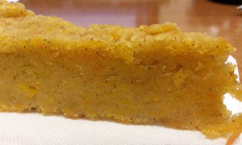 Тыквенный пирог без яиц