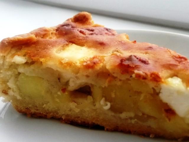 пирог с картошкой без яиц