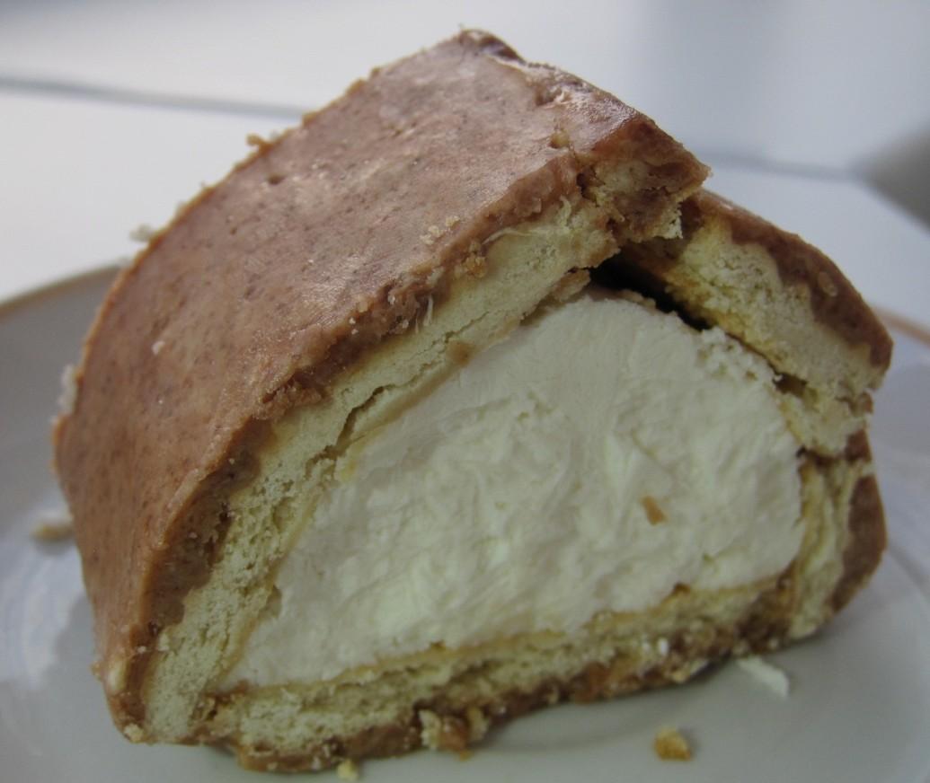 творожный домик из печенья