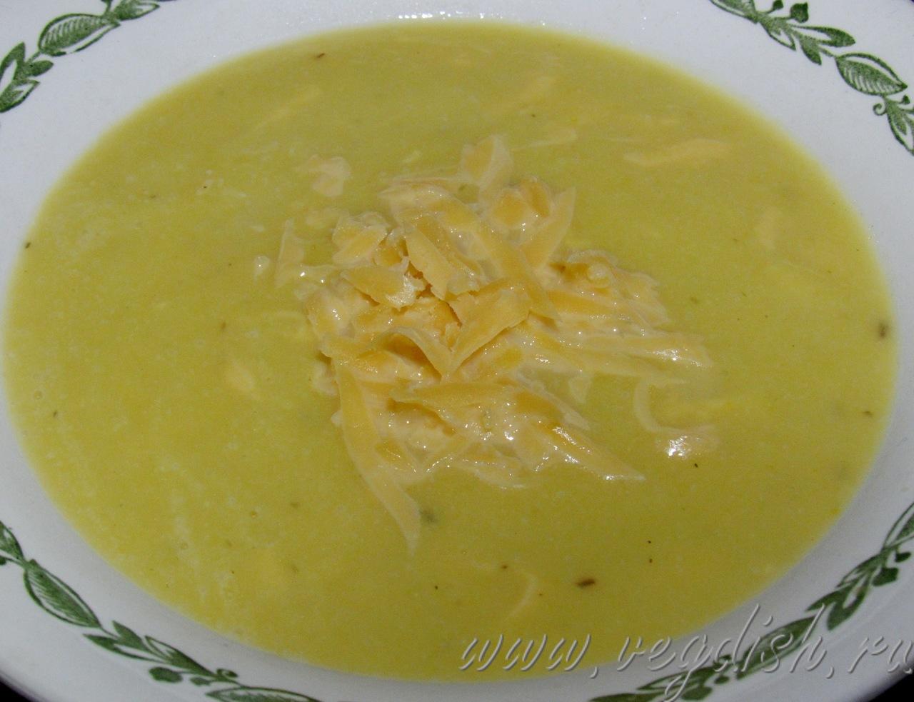 Тыквенный суп пюре с кабачками