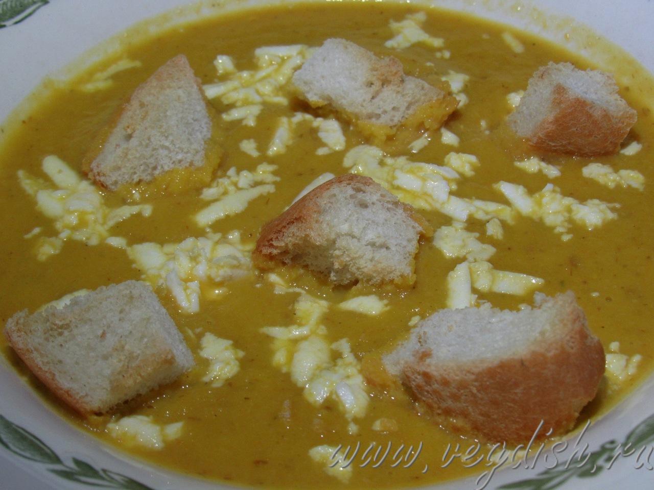 Тыквенный суп-пюре с цветной капустой