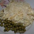 Паста с кабачково-сырным соусом