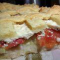 Кабачковый пирог со сметанной заливкой