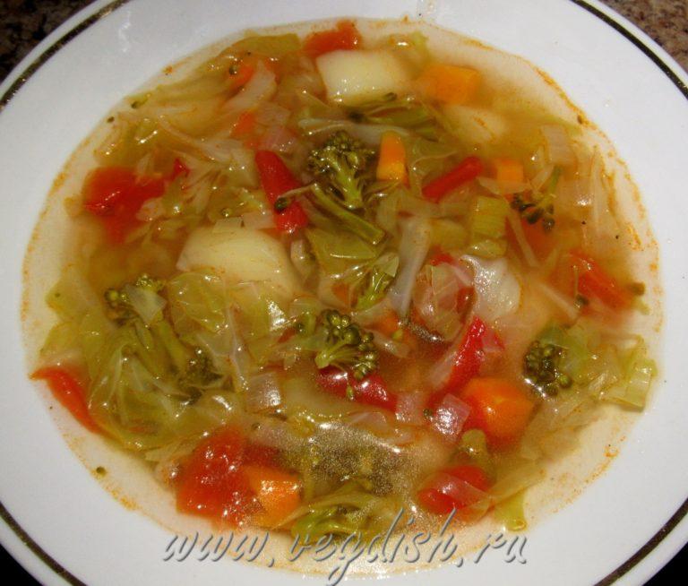 Овощной суп для похудения Рецепт боннского супа с капустой