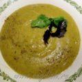 Суп пюре из брокколи и баклажанов