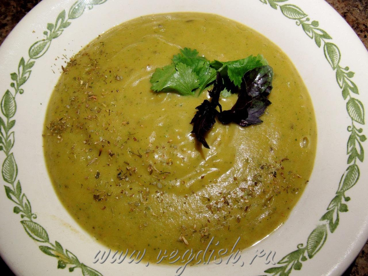 суп пюре из баклажанов и кабачков рецепт с фото