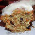 Морковный кекс с рикоттой