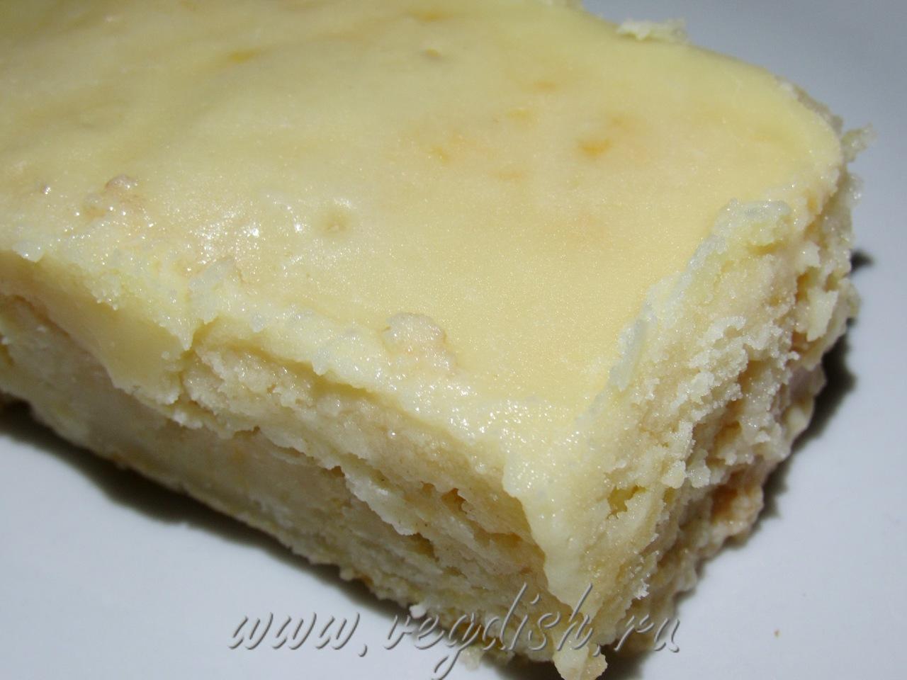Тыквенный пирог с заварным кремом