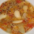 Суп с фасолью и киноа