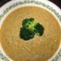 Суп пюре из брокколи и сельдерея