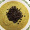 Суп пюре из брокколи, цветной капусты и чечевицы