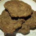 Шоколадное печенье с кабачком