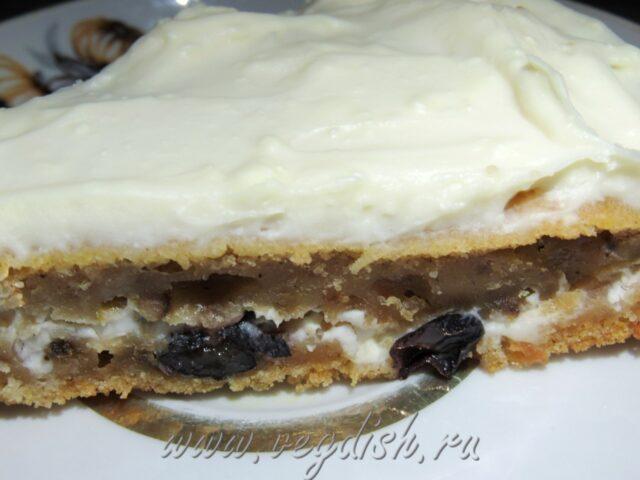 Тыквенный торт с маскарпоне
